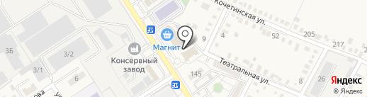 На посошок на карте Динской