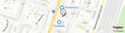 Городской Ломбард на карте Воронежа