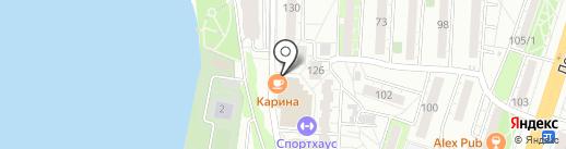 Спорт Хаус на карте Воронежа