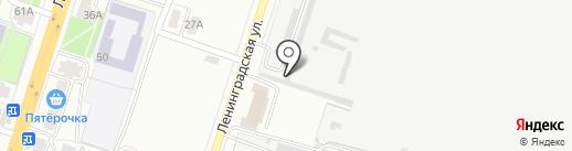 Х-Мастер на карте Воронежа