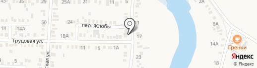 Продуктовый магазин на Кочетинской (Динская) на карте Динской