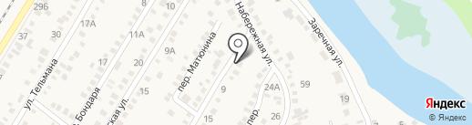 Жасмин на карте Динской