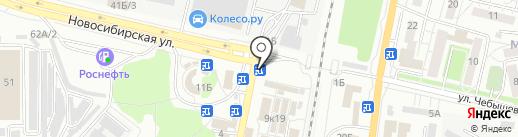 Магазин цветов на карте Воронежа