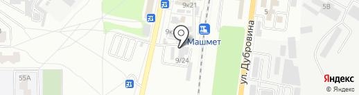 Комфорт на карте Воронежа