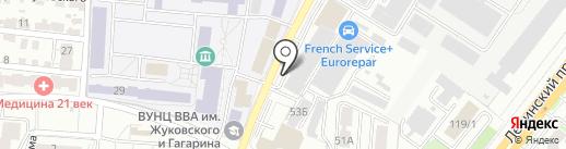 ParaGraf.ru на карте Воронежа
