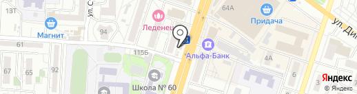 Мир Цветов на карте Воронежа