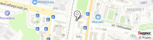 Связной на карте Воронежа
