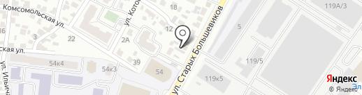 Груминг-кабинет на карте Воронежа