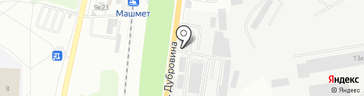 Воронеж Бэттерис на карте Воронежа