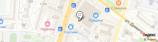 Петровский Мясокомбинат на карте Воронежа