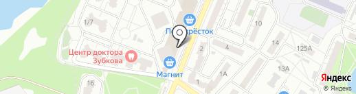 Мери мебель на карте Воронежа