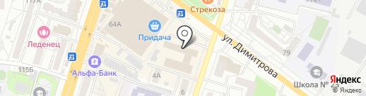 СантехЛюкс на карте Воронежа