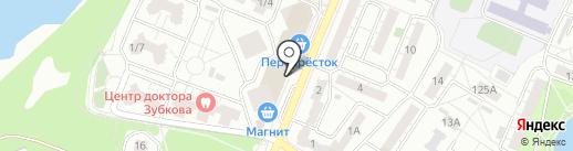Собо на карте Воронежа