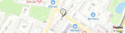 Белорусская ярмарка на карте Воронежа