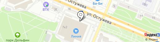 Феникс на карте Воронежа