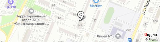 Ланкс на карте Воронежа