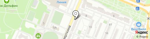 Объединенные частные пивоварни на карте Воронежа