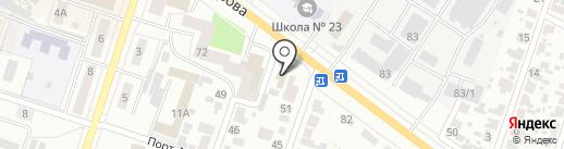 Уют на карте Воронежа
