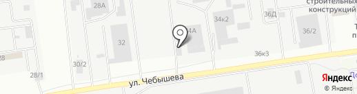 Контакт на карте Воронежа