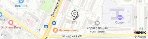 ОЛИРА на карте Воронежа