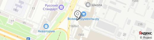 Дом маляра на карте Воронежа