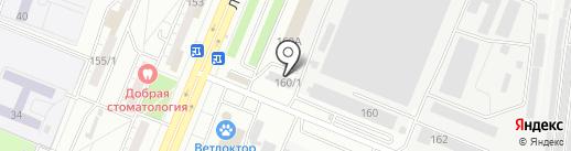 Юнипол+ на карте Воронежа