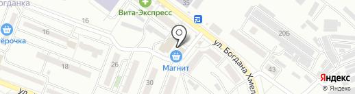 Магазин по продаже кондитерских изделий на карте Воронежа