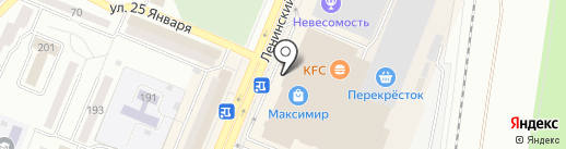 Мегафон на карте Воронежа