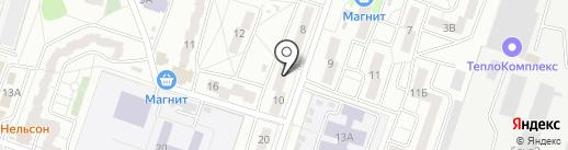 Таверна на карте Воронежа