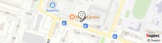 Парикмахер на карте Воронежа