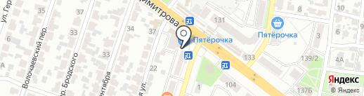 Деликат на карте Воронежа
