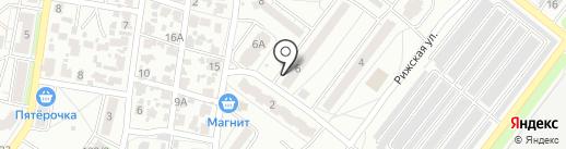 Хмельная галерея на карте Воронежа
