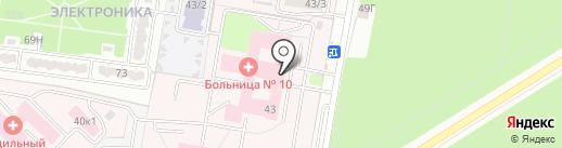 Центр Коррекции Позвоночника на карте Воронежа