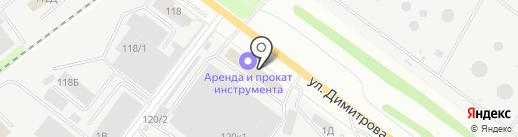 Квартал мебель на карте Воронежа
