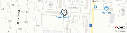Магазин свежего мяса на карте Воронежа