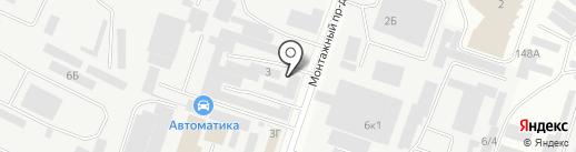 ВоронежПродИнструмент на карте Воронежа