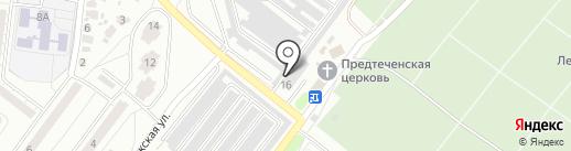 VipCar36 на карте Воронежа