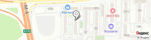 Одежда даром на карте Воронежа