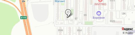 КЕЛЬНЕР на карте Воронежа