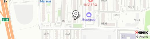 №1 на карте Воронежа