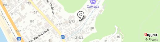 Усадьба Арлен на карте Сочи