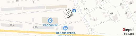Репный на карте Отрадного
