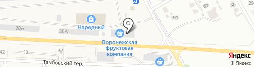 Мельник на карте Отрадного