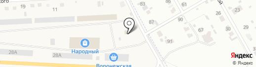 Зимушка на карте Отрадного