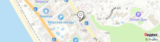 Росгосстрах банк, ПАО на карте Сочи