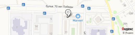 ДСК на карте Отрадного