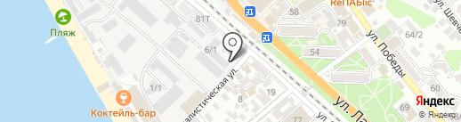 ZakuCity на карте Сочи