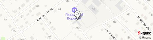 ВИК на карте Отрадного