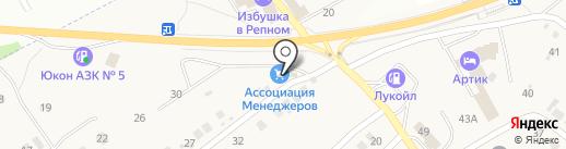 Ассоциация Менеджеров на карте Отрадного
