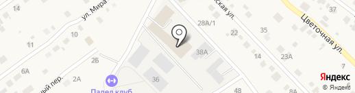 ГТС на карте Отрадного